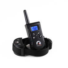 20set/lot 100LV Dog Training Collar with Backlight Screen and key Controler Waterproof receiver collar suit to Dog Swimming 520S(China)