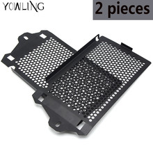 2 pieces Radiator guard FOR BMW R1200GS Adventure 2013-2015 2016 2017 LC Water cooled Moto Radiator Grille Guard Cover Protector(China)
