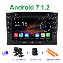 2 GB RAM Android 7.1 Car DVD Player Radio for Renault Megane 2 ii 2003 2004 2005 2006 2007 2008 2009 2010 with BT Wifi GPS(China)