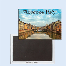 City canal Florence Italy 24263 Fridge Magnetic Souvenirs
