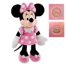 "Original Mouse Mickey Minnie Plush 19""48CM Pink Dress Stuffed Animals Girls Plush Toys For Children Gifts Kids Soft Baby Toys"