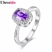 15% off 6 Colors Costume Jewelry Rings for Women Bague Femme 2017 Sale Square Women's Ring Female Christmas Gift Size 6-9 Y3180