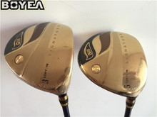 Brand New Gold Boyea GIII Signature Fairway Woods Golf Fairway Woods Golf Clubs #3/#5 R/S-Flex Graphite Shaft Come With Cover