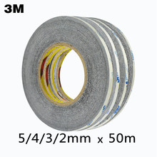 3M Double Side Adhesive Glue Tape For Repair Touch Screen 3m black double sided tape masking tape set(China)