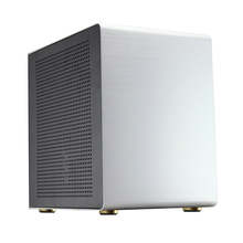 Aluminum alloy Desktop MicroATX Computer case HTPC Chassis Computer Games ITX empty cage(China)