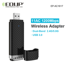 EP-AC1617 802.11AC 1200Mbps 2.4G/ 5G Dual Band USB WiFi Wireless Adapter