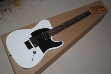 Free shipping! High Quality white tele guitar EMG pickup standard telecaster electric guitar .