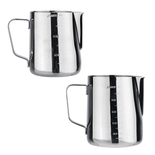 350ml 600ml Espresso Coffee Milk Cup Mugs Latte Art Frothing Pitcher Pull Flower Cup Cappuccino Cooking Tools