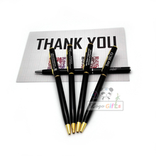 2017 new design business promotion pens 30pc a lot custom print your company name/logo free(China)