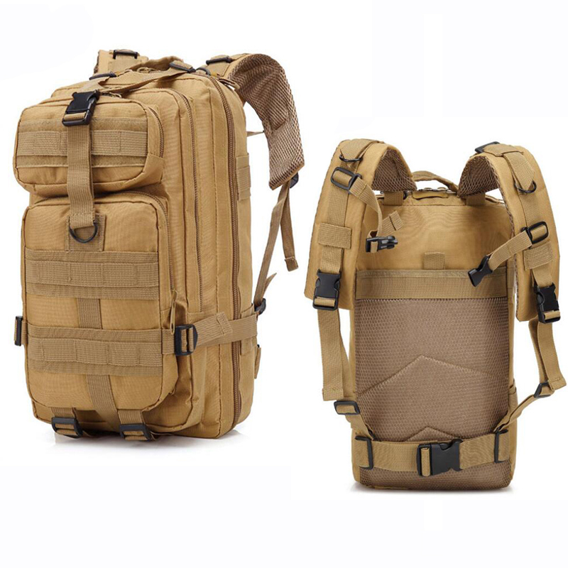 Outdoor Molle Tactical Military Rucksack Backpack Travel Shoulder Bags Hike Camp