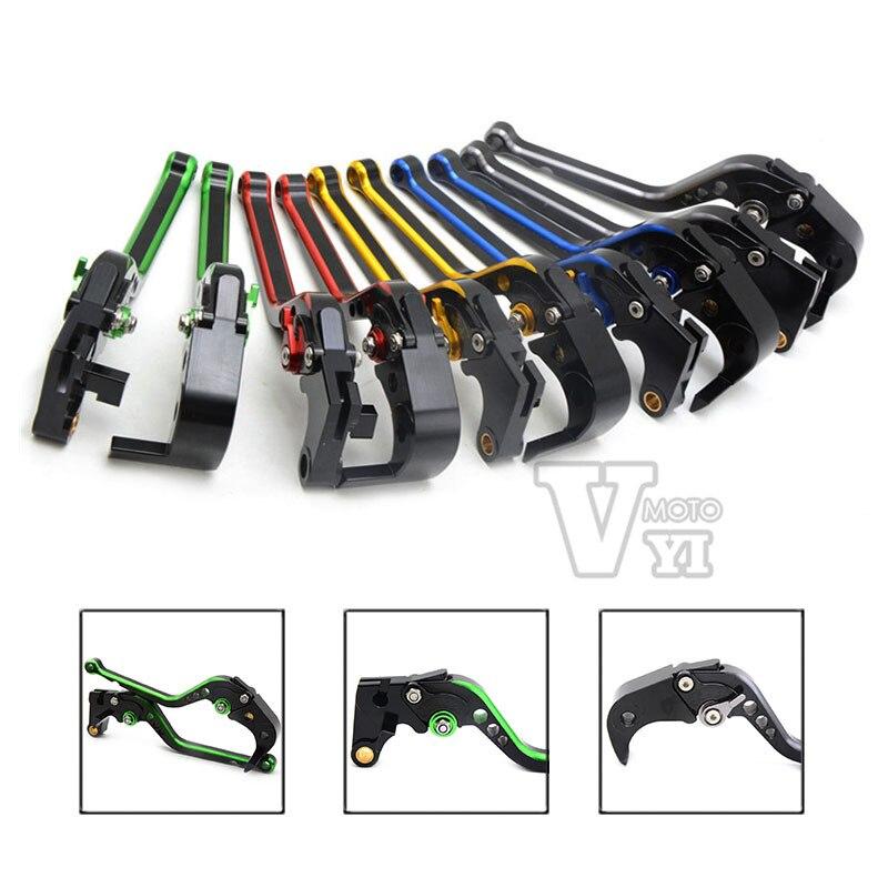 Motorcycle Adjustable CNC Aluminum Brakes Clutch Levers Set Motorbike brake FOR KAWASAKI / YAMAHA /KTM /DUCATI /HONDA /SUZUKI<br>