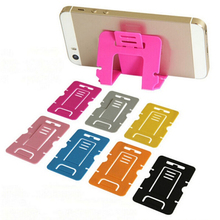 1pcs Universal Stand Card Phone Holder For Iphone Accessories Support For Samsung Suporte Holder Stand Mount