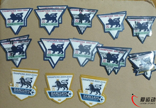 Retro Premier League champions patch GOLD EPL patch 93/94/95/96/97/98/99/00/01/02/03/04/05/06 badge with Lextra