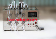 5ml to unlimited manufacturer selling Magnetic Pump Filling Machine with 6 Heads