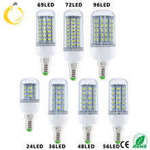 1pcs SMD 5730 E14 LED Lamp LED Lights Corn Led Bulb 24 36 48 56 69 72 96Leds Chandelier Candle Lighting Home Decoration(China)