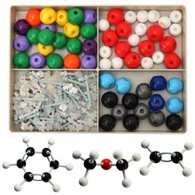 240Pcs Atom Molecular Models Kit Set General & Organic Chemistry Scientific Children Learning Educational Toy Set(China)