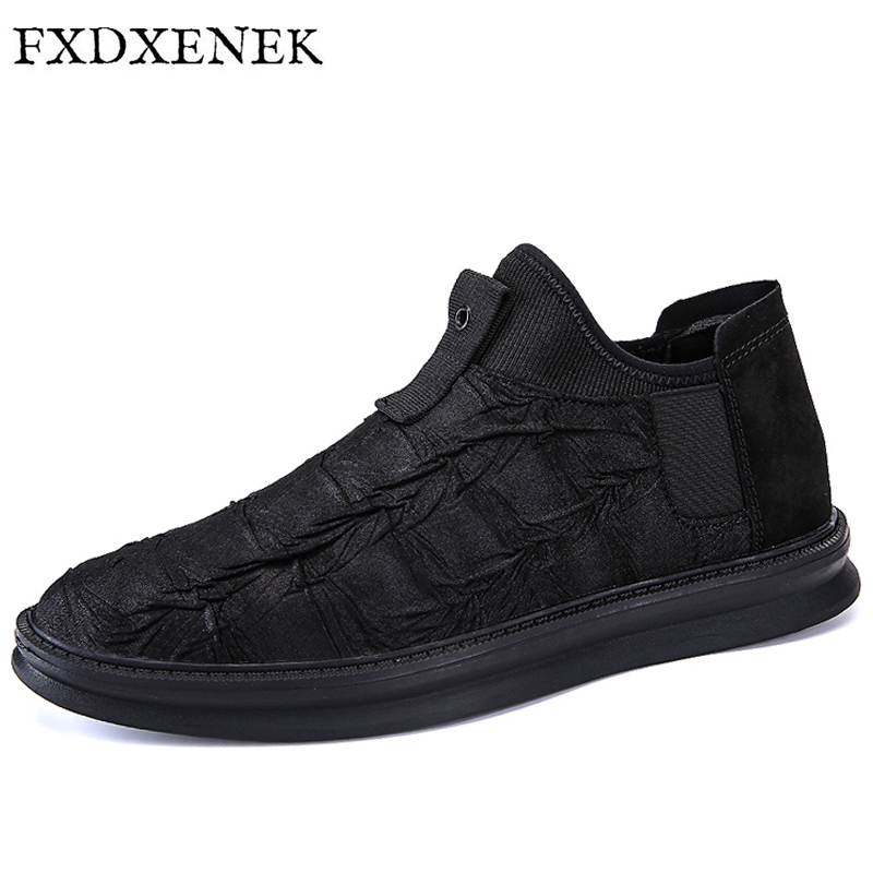 ZENVBNV New 2017 Mens Shoes Pigskin Mens Flats Handmade Mens Loafers Fashion Designer Slip On Casual Leather Shoes Size 39-44<br>