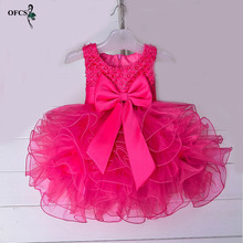 Infant Princess Dress Girl Wear Halloween New year Christmas party Costume Girls Clothes Fancy Dresses Party Teenage Ball Gown(China)