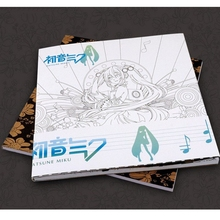 Hatsune Miku Coloring Book For Children Adult Relieve Stress Kill Time Fashion Graffiti Painting Drawing anime Colouring Books(China)