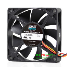 New Original for CoolerMaster A7015-48RB-3AN-L1 PL71S12HH-1 12V 0.30A 70*70*15MM 7cm CPU cooling fan