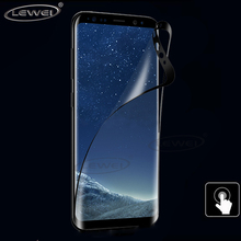 LEWEI 2PCS 3D Curved Full Flex Soft TPU Screen Protector For Samsung Galaxy S8 Plus Note 8 S7 S6 Edge Curved Film ( Not Glass )