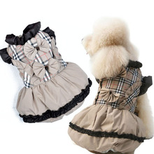 New arrival Brand  Small dog winter  Dress Puppy Cat Cotton Warm Hoodie Coat Jacket  Chihuahua