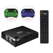 KI PRO Android 7.1 TV Box DVB-S2 DVB-T2 DVB-C Amlogic S905D Quad Core 2GB DDR4 16GB Flash BT4.0 Kodi 17.0 OTA Media Player