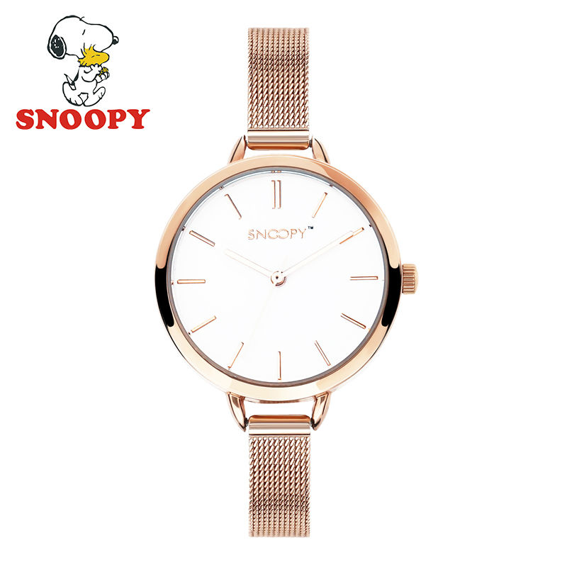 Snoopy Kids Watch Children Watch Casual Fashion Cute Quartz Wristwatches Girls Waterproof Leather clock<br>