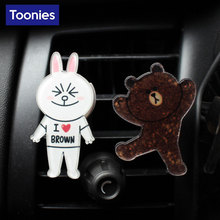 Air Conditioning Outlet Perfume Clip Cartoon Car Air Freshener Auto Fragrances Folder Auto Aroma outlet Smart Fortwo Ornaments