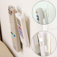 4 PCS Sticky Hook Set TV Air Conditioner Remote Control Key Wall Storage Plastic Hooks Holder Strong Hanger