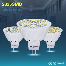mr16 led lamp AC /DC 12V 24V mr 16 led light bulb gu5.3 4w 6w 8w led spotlight smd2835 energy saving lamp for chandelier lampada()