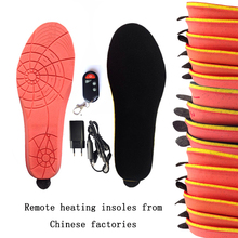women's shoes Electric heating insoles from china factory remote control insoles winter  warm boots insoles Free shipping1900MA