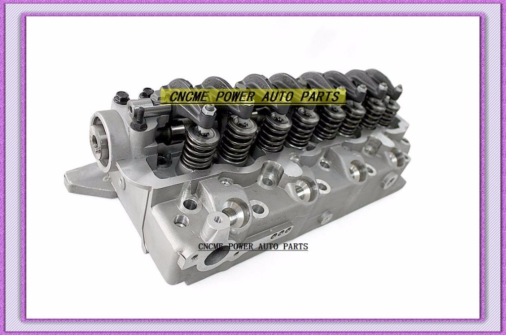 4D56 D4BA D4BAT Cylinder Head Assembly ASSY For Mitsubishi Montero Pajero L300 DELICA Canter Besta Bongo 2.5L MD185926 908 612 908612 (7)