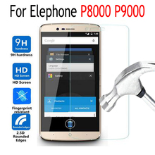 Tempered Glass For Elephone P8000 P9000 P 9000 P 8000 Screen Protector Cover Protective Film Case With Cleaning Tool