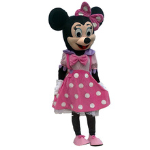 Pink Minnie Mouse Cartoon Mascot Costumes Adult Size()