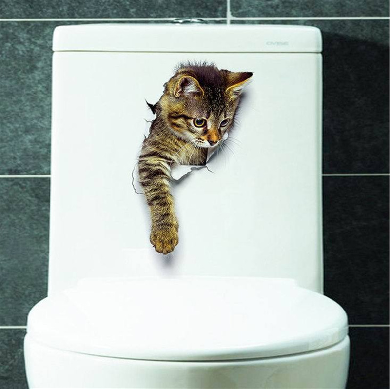 Cat Vivid 3D Smashed Switch Wall Sticker Bathroom Toilet Kicthen Decorative Decals Funny Animals Decor Poster PVC Mural Art Cat Vivid 3D Smashed Switch Wall Sticker Bathroom Toilet Kicthen Decorative Decals Funny Animals Decor Poster PVC Mural Art HTB10583diQnBKNjSZFmq6AApVXa0