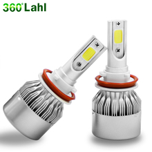 C9 12v 6000K Super Bright Car Headlight H4 Led Lamp Bulbs H7 H1 H8 H11 9006 HB4 9005 9004 H3 880 9007 Automobiles Auto Lights(China)