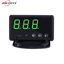 Car GPS HUD Speedometer C60 Vehicle Head Up Display KM / h MPH Overspeed Alarm Windshield Engineering Alarm All Cars & Trucks(China)