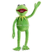 The Muppets Kermit Frog Plush Toy Stuffed Animals 45cm 18'' Kids Toys for Children Gifts