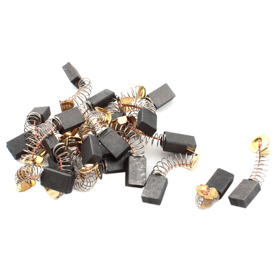 20 Pcs/lot 15mm x 10mm x 6mm Carbon Brushes for Generic Electric Motor<br><br>Aliexpress
