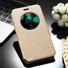 Sands Grain PU Leather Mobile Phone Cases for Asus Zenfone 3 Laser ZC551KL Zenfone3 Laser 5.5 inch Cover Sleep Function Bags