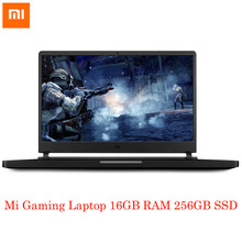 Xiaomi Mi Gaming Laptops 15.6'' WIN10 Intel Core I7-7700HQ Quad Core 16GB+256GB SSD+1TB HDD HDMI GTX1060 Bluetooth 4.1 Dual WiFi(China)
