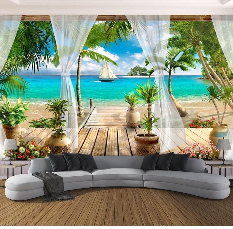 Custom 3D Photo Wallpaper Background Wall Mural