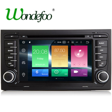 8 CORE RK3688 Android 6.0 Car 2 din DVD GPS For Audi A4 S4 2002-2008 Radio stereo multi media RAM 2G 16G/32G navigation 4G(China)