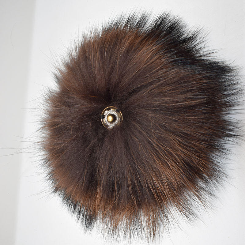 raccoon fur pompom coffee back 2