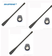 3pcs SMA Female Original Baofeng Antenna For Ham Radio Antenna Dual Band VHF UHF UV-5R gt-3 UV-82 BF-888S SMA-F hf Antenna