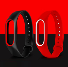 MiBand 2 Silicone Replace Strap For Xiaomi Mi Band 2 Wristbands For Mi Band 2 Smart Bracelet Mi Band belt pulsera colorful