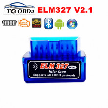 2017 Newest Super MINI ELM327 Latest Version V2.1 New Auto OBD Scanner Code Reader Tool ELM 327 Bluetooth For Android/Symbian