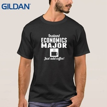 ali t shirts mans china Economics Major I Am Always Fiscally Fit Purple tee shirts O-Neck cotton simple Lover Clothes