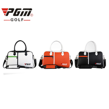 PGM Top Quality Golf Clothing Bag Waterproof PU Leather High Capacity Durable Golf Bag For Shoes Handbag Free Shipping(China)
